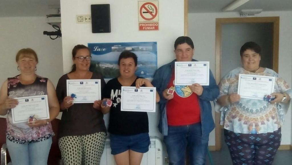 Clausurado en Laxe o sétimo curso do PIMD Rural organizado pola Asociación Íntegro