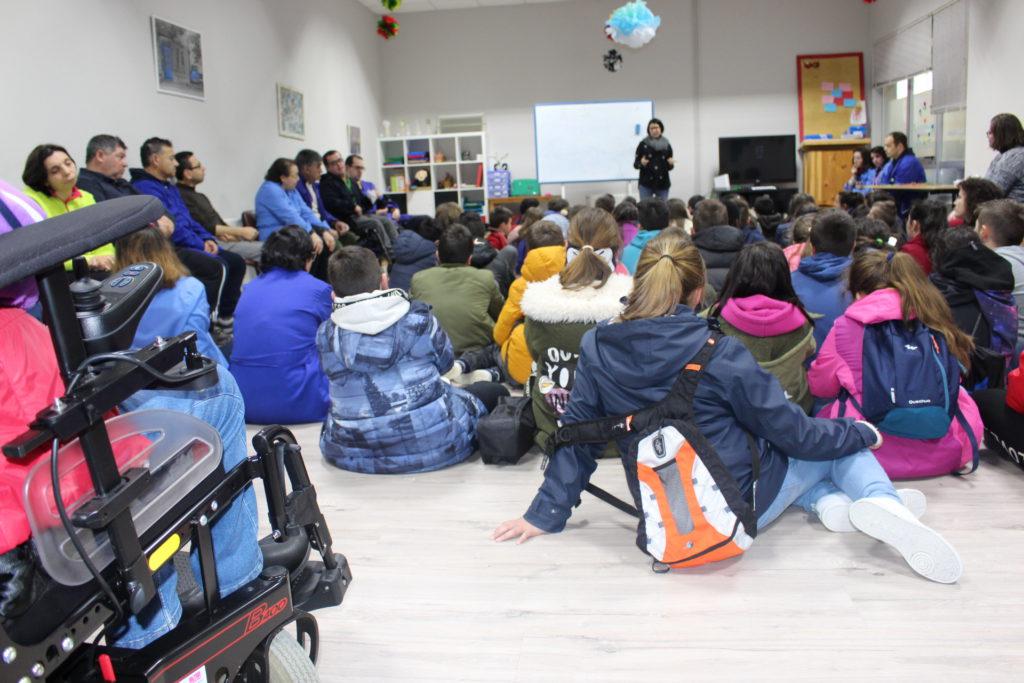 Máis de 100 estudantes de Ponteceso, Vimianzo e Zas protagonizan as últimas accións inclusivas de Íntegro