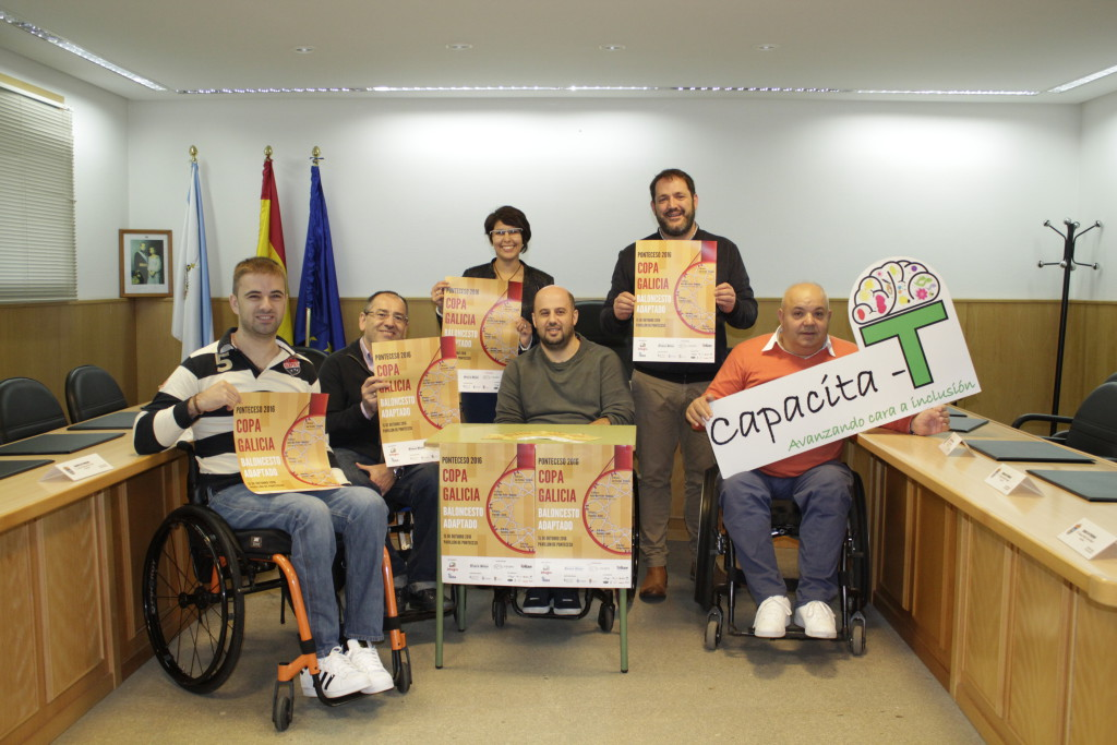 A Copa Galicia de Baloncesto Adaptado reunirá en Ponteceso aos mellores equipos da comunidade