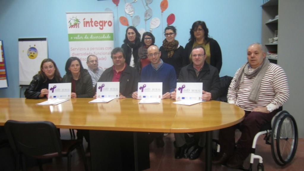 A Secretaria Xeral de Igualdade visita Íntegro para asistir á presentación do PIMD Rural 2016-2017