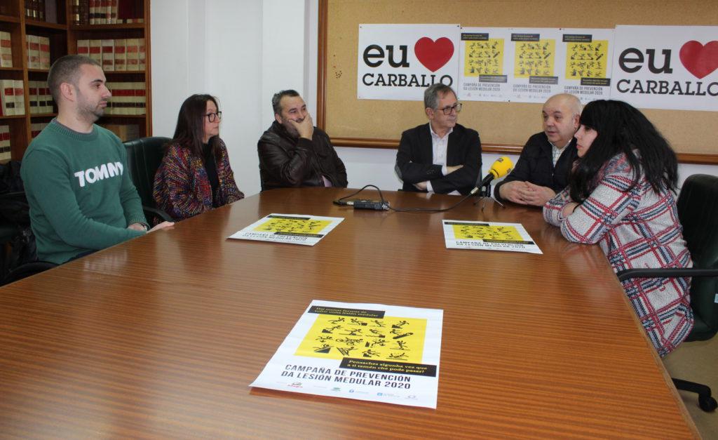 A campaña de prevención das lesións medulares arrincará este venres do IES Alfredo Brañas de Carballo